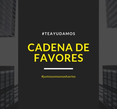 Cadena de Favores #TeAyudamos