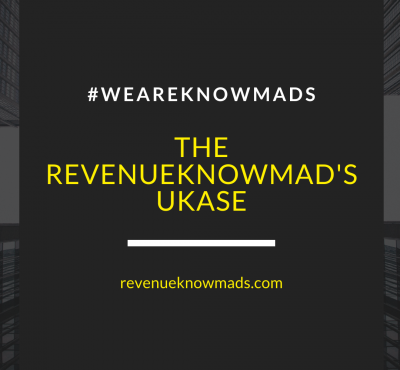 The RevenueKnowmad's Ukase