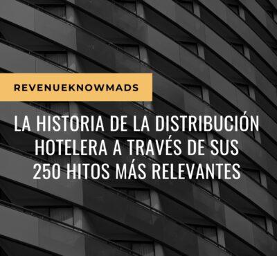 La historia de la distribución hotelera a través de sus 250 hitos más relevantes (ebook Gratuito)