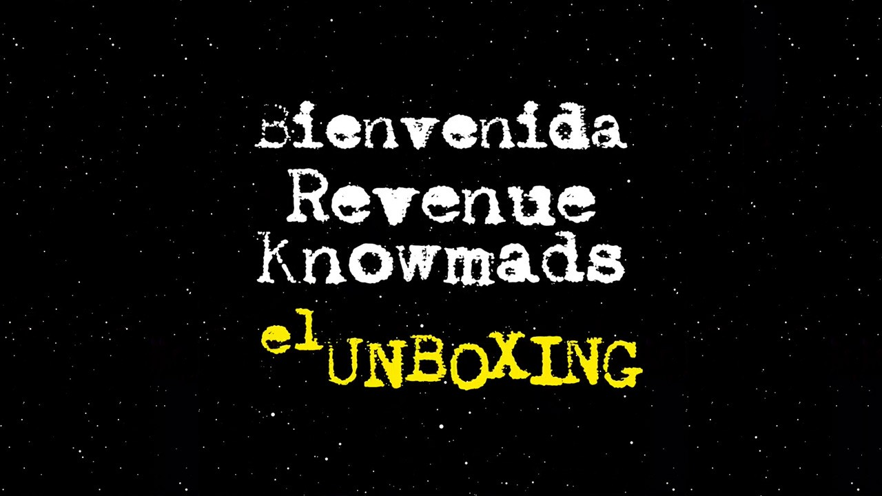 Bienvenida RevenueKnowmads unboxing